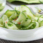 Рецепт Кунжутный легкий салат на день рождения