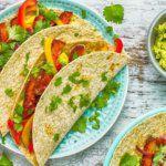 Рецепт Веганский мексиканский фахитос дома