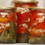 Рецепт Вкусные сладкие помидоры в желе на зиму