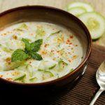 Рецепт Салат с йогуртом из огурцов