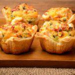 Рецепт Домашние тарталетки с сыром и грибами