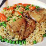 Рецепт Запеченные куриные бедра в духовке