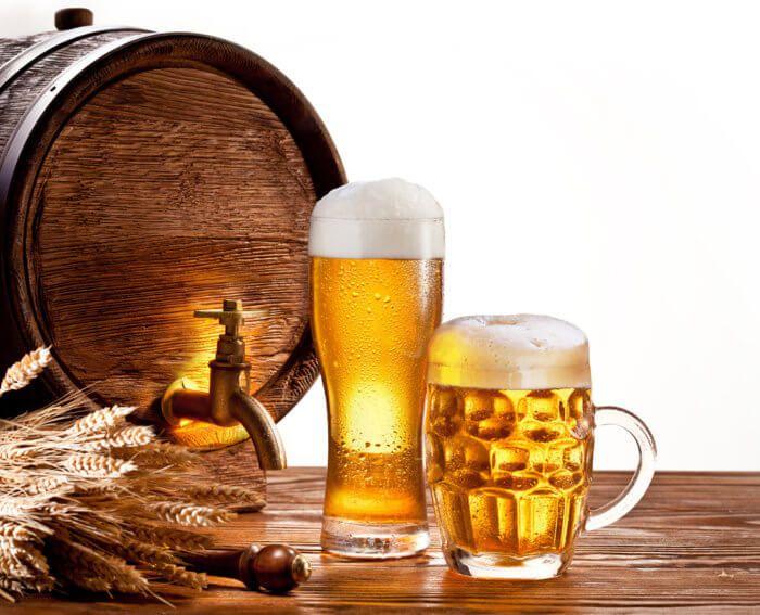 На фото Как, где и сколько можно хранить пиво. Температура и места