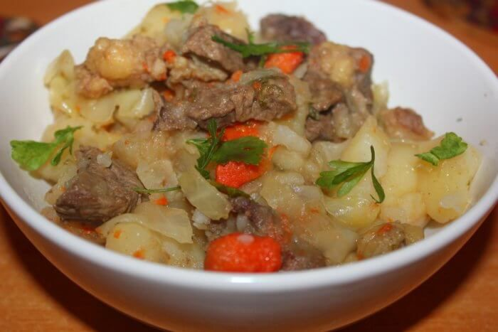 Рецепт рагу мясом картошкой фото