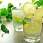 Рецепт Лимонная вода
