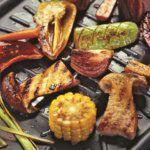 Рецепт Белые грибы и овощи-гриль в домашних условиях