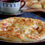 Рецепт Мегрельские домашние хачапури в духовке