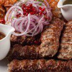 Рецепт Бараний люля-кебаб на шампурах
