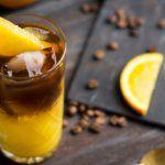 Рецепт Ледяной апельсиновый кофе для любимой