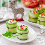 Рецепт Вкусные роллы с жареным перцем и фетой