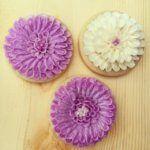 Как сделать Хризантему на печенье