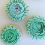 Как сделать Цветок на печенье
