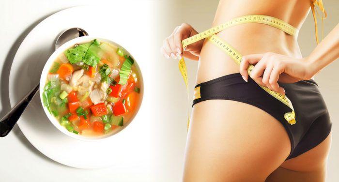 На фото Супы для похудения: Топ-4 лучших рецепта