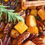 Рецепт Сладкая тыква запеченная в духовке кусочками