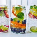 Фруктовый напиток: как сделать воду вкусной и полезной? Инфографика