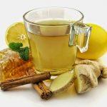 Рецепт Зеленый чай с имбирем и корицей