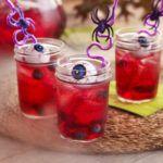 Рецепт Кроваво-красный пунш на Хэллоуин