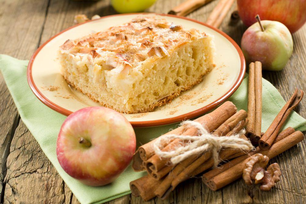 Шарлотка в мультиварке поларис с яблоками ~ Домашние рецепты