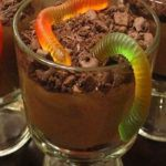 Рецепт Шоколадный мусс с червяками