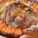 Рецепт Очень вкусная курица, запеченная в тыкве