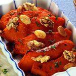 Рецепт Запеченная тыква с медом и орехами
