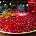 Рецепт Салат Гранатовый браслет на Новый год