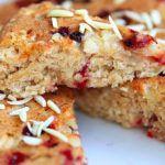 Рецепт Постный пирог с брусникой и яблоками