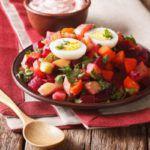 Рецепт Винегрет с вареным яйцом