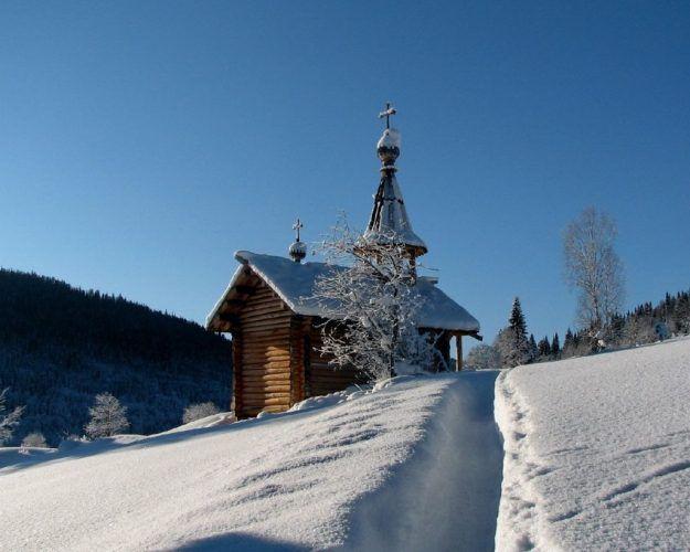 На фото Рождественский пост