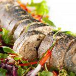 Рецепт Фаршированная рыба с хлебной начинкой на Новый год