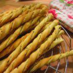 Рецепт Итальянские гриссини с базиликом