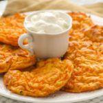 Рецепт Печеные оладьи из тыквы