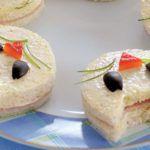 Рецепт Трехслойный сэндвич своими руками в виде кошки