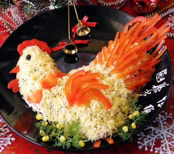 новогодние блюда год рецепты фото