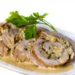 Рецепт Рулет из свинины с орехами
