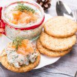 Рецепт Новогодний паштет из копченого лосося