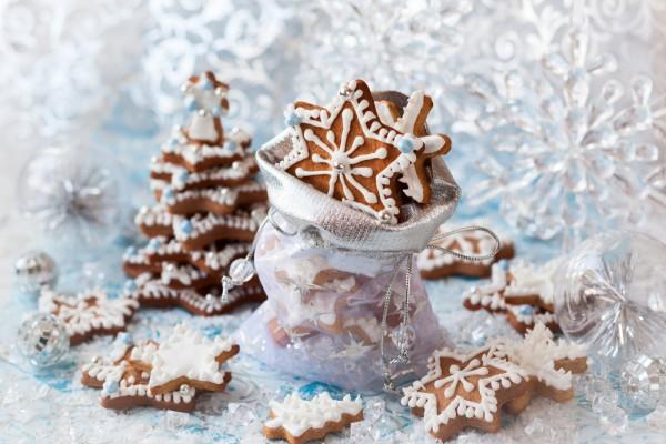 На фото Имбирное печенье на Новый год: ТОП-5 рецептов