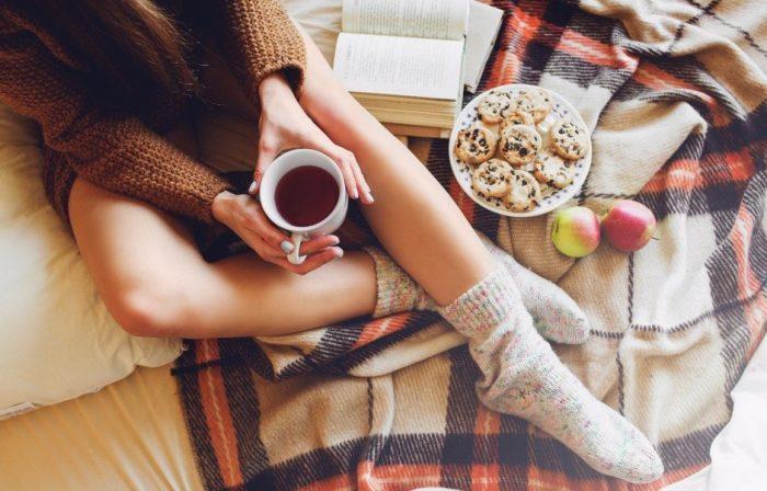 На фото Как правильно питаться этой зимой: полезные советы