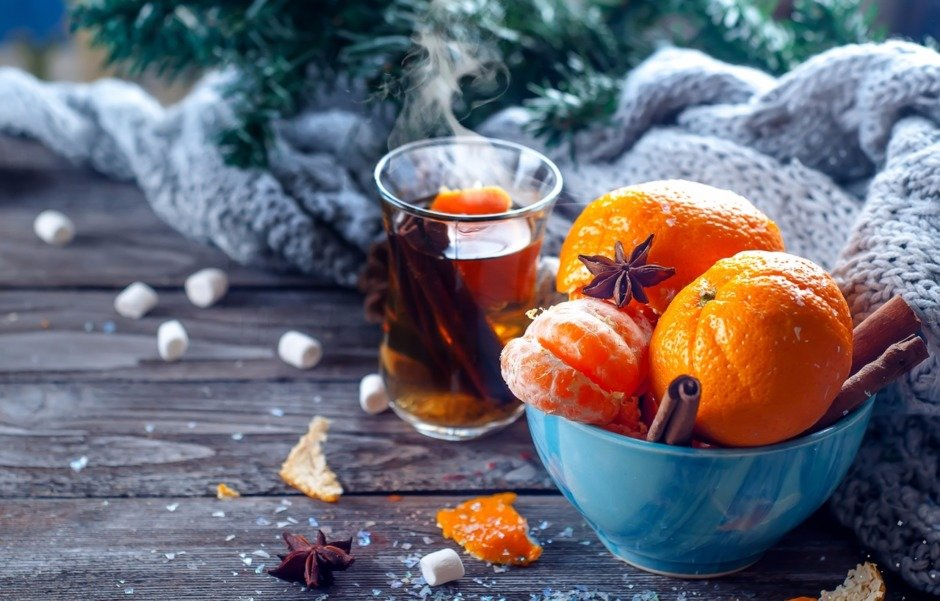 Image result for мандарины зимой