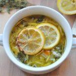 Рецепт Куриный суп с лимоном