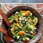 Рецепт Салат с авокадо и мандаринами