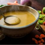 Рецепт Суп из репы, моркови и картофеля с зеленым луком