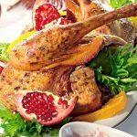 Рецепт Утка на новый год: запеченная утка в духовке с гранатовым соусом