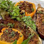 Рецепт Фаршированные овощи в духовке