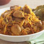 Рецепт Вкусная тушеная капуста на сковороде