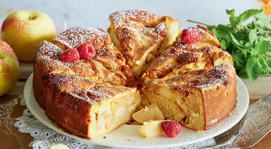 Пирог из яблок рецепт шарлотка