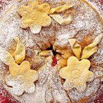 Рецепт Вишнево-творожный штрудель в духовке