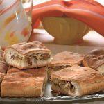 Рецепт Вкусный пирог с капустой из дрожжевого теста с грибами