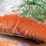 Филе лосося на Новый Год (лосось слабосоленый)