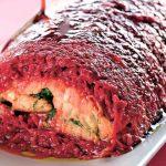 Рецепт Новогоднее полено: судак запеченный в духовке в фольге